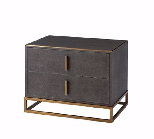 Picture of BLAIN NIGHTSTAND (SHAGREEN)