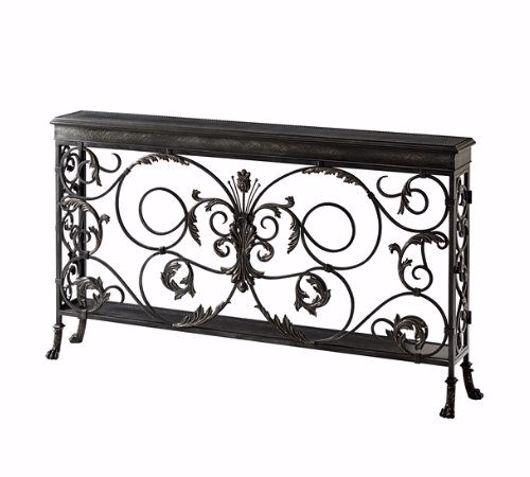 Picture of A HIGHLY WROUGHT CONSOLE TABLE