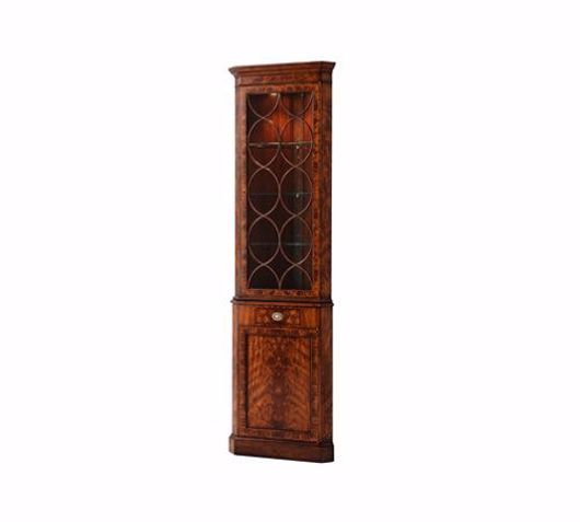 Picture of A CORNER CABINET OF GEORGIAN ENGLAND