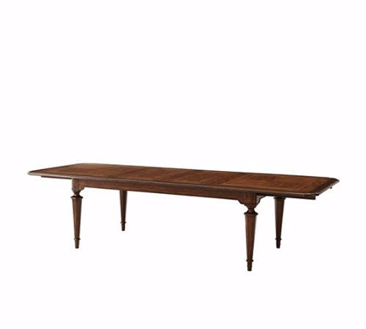 Picture of A GORGEOUS SPECIMEN DINING TABLE