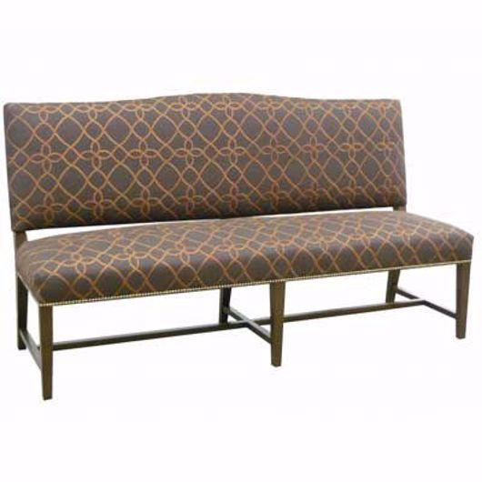 Picture of BANQUETTE WITH TAPERED LEGS