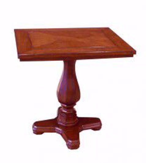 "Picture of 30""X36"" PEDESTAL TABLE"