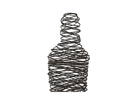 Picture of ABSTRACT WIRE MAN FLOOR SCULPTURE SM