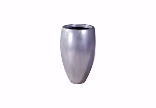 Picture of CLASSIC PLANTER POLISHED ALUMINUM, SM