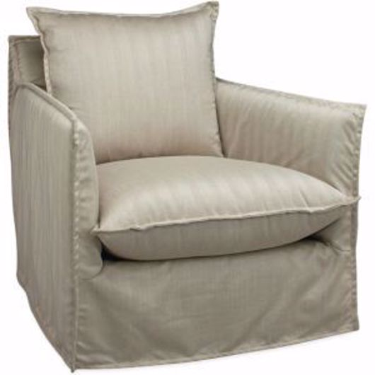 Picture of AGAVE OUTDOOR SLIPCOVERED SWIVEL GLIDER