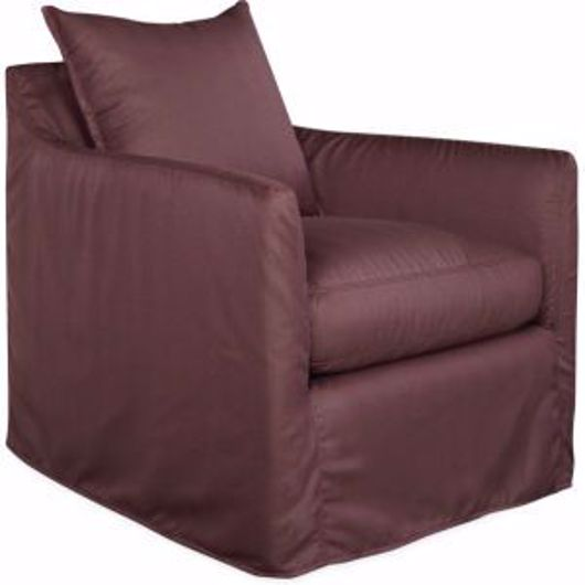 Picture of CYPRESS OUTDOOR SLIPCOVERED SWIVEL GLIDER