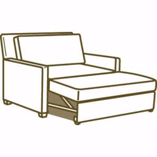 Picture of CONVERTIBLE CHAISE