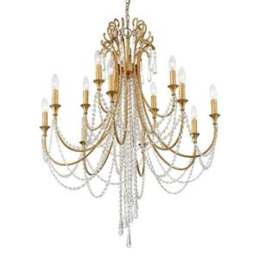 Picture of ARCADIA - 12 LIGHT CHANDELIER
