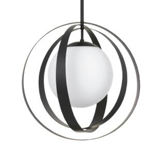 Picture of ARLO - 16 INCH ONE LIGHT CHANDELIER