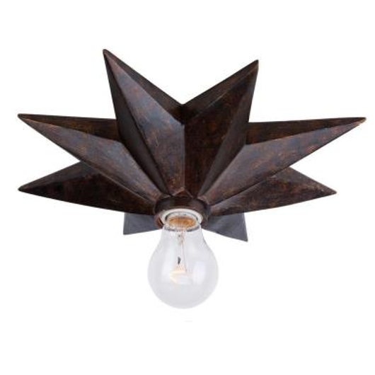 Picture of ATHENA RUSTIC CHIC 1 LIGHT CEILING MOUNT