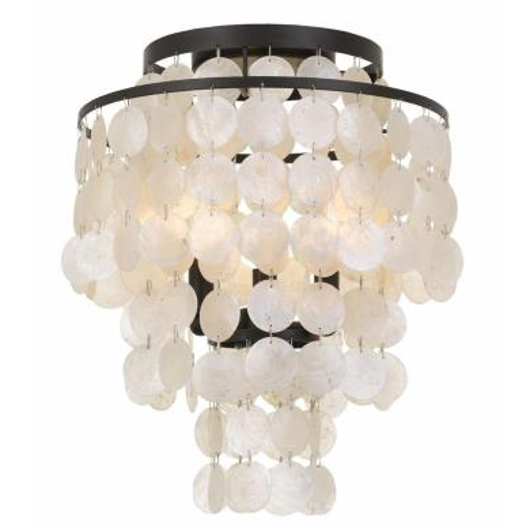 Picture of BRIELLE - THREE LIGHT FLUSH MOUNT