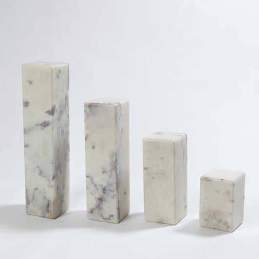 "Picture of 4"" MARBLE MINI PEDESTAL/RISER"