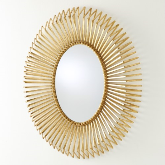 Picture of ANDREA'S MIRROR-GOLD LEAF
