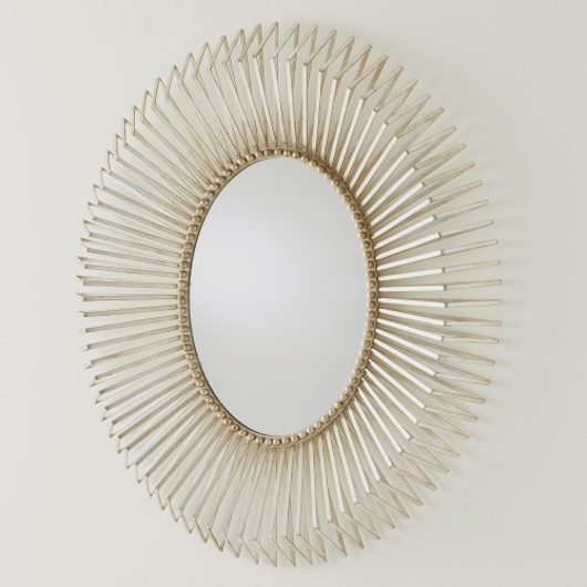 Picture of ANDREA'S MIRROR-SILVER LEAF