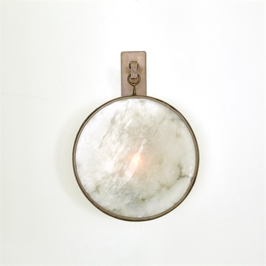 Picture of ANYA WALL SCONCE-BLACK/BRONZE