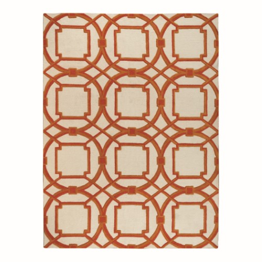 Picture of ARABESQUE RUG-CORAL