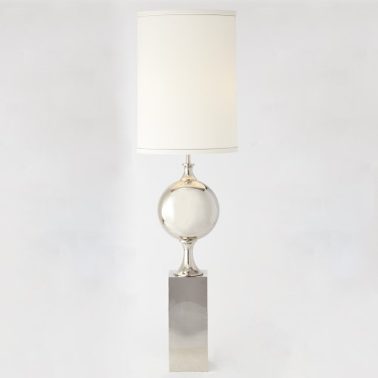 Picture of BIG PILL LAMP-NICKEL