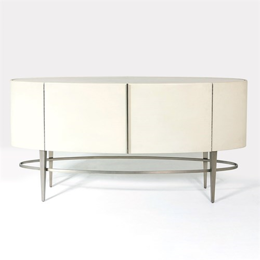 Picture of ELLIPSE SIDE BOARD-IVORY
