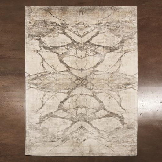 Picture of MIRROR MATCH MARBLE RUG-NEUTRALS
