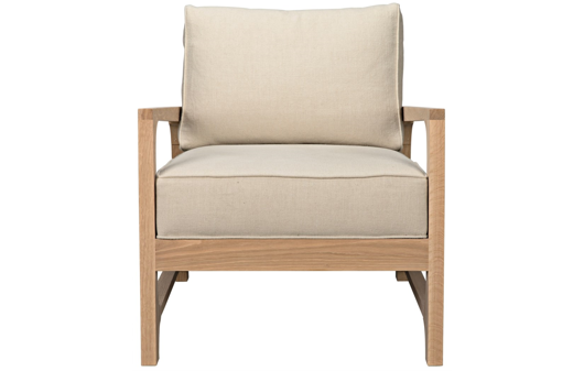 Picture of ALEXANDRA CHAIR OAK FRAME