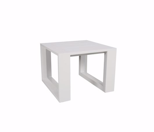 """Picture of BELVEDERE 24"""" SQUARE SIDE TABLE"""