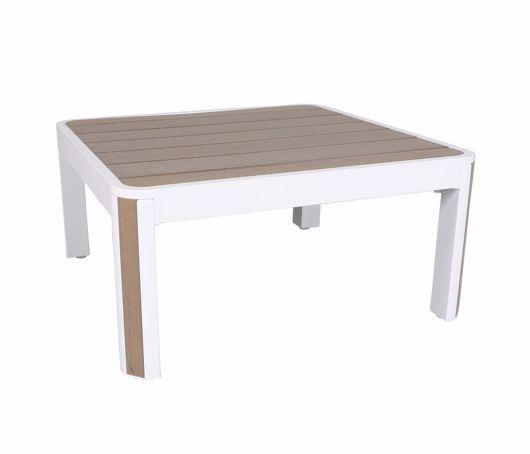 """Picture of DECO 34"""" SQUARE COFFEE TABLE"""