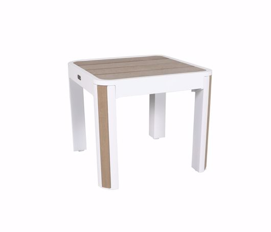 """Picture of DECO 22"""" SQUARE SIDE TABLE"""