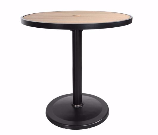 """Picture of KENSINGTON 42"""" ROUND PEDESTAL BALCONY TABLE"""
