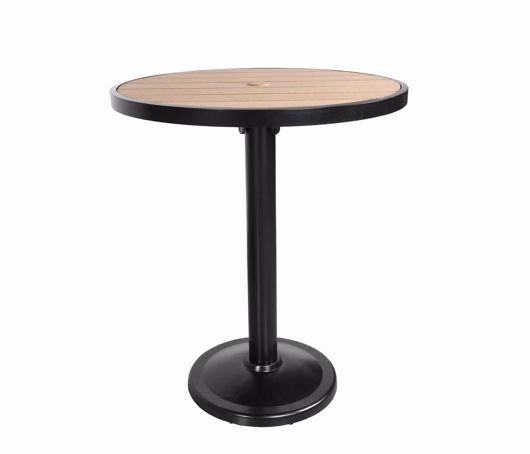 """Picture of KENSINGTON 36"""" ROUND PEDESTAL BALCONY TABLE"""