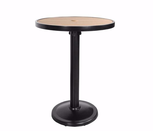 """Picture of KENSINGTON 32"""" ROUND PEDESTAL BALCONY TABLE"""