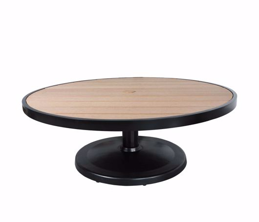 """Picture of KENSINGTON 48"""" ROUND PEDESTAL COFFEE TABLE"""