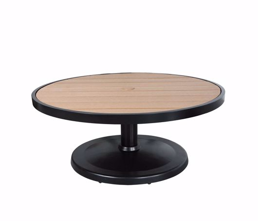 """Picture of KENSINGTON 42"""" ROUND PEDESTAL COFFEE TABLE"""