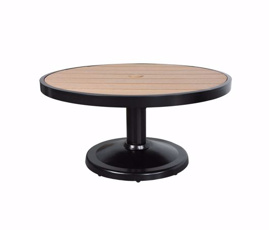 """Picture of KENSINGTON 36"""" ROUND PEDESTAL COFFEE TABLE"""