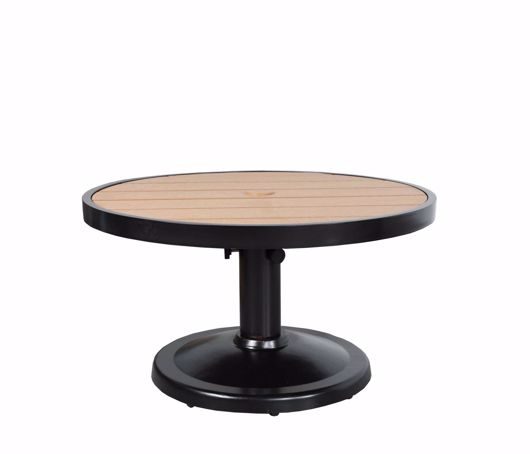 """Picture of KENSINGTON 32"""" ROUND PEDESTAL COFFEE TABLE"""