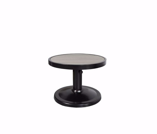 """Picture of KENSINGTON 24"""" ROUND PEDESTAL SIDE TABLE"""