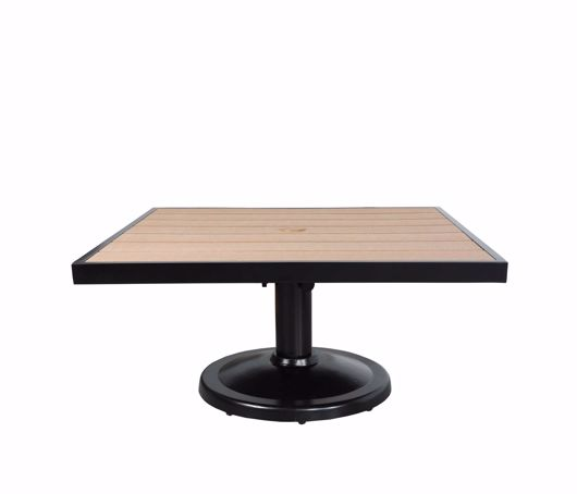 """Picture of KENSINGTON 32"""" SQUARE PEDESTAL COFFEE TABLE"""
