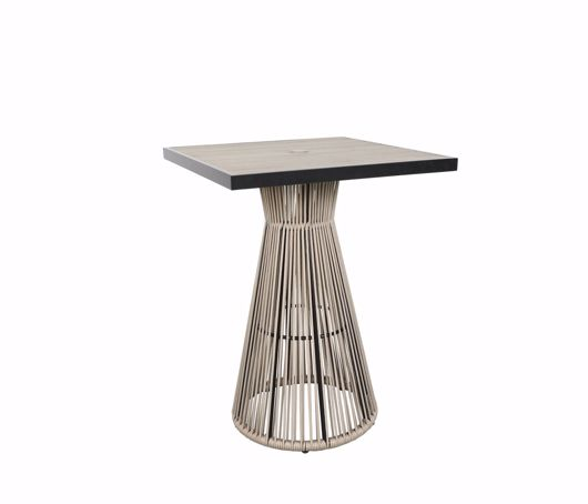 """Picture of COVE 32"""" SQUARE BAR TABLE"""