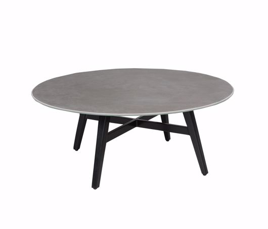 """Picture of GRAMERCY CERAMIC 32"""" ROUND COFFEE TABLE"""