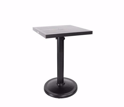 """Picture of MONACO 24"""" SQUARE PEDESTAL BALCONY TABLE"""