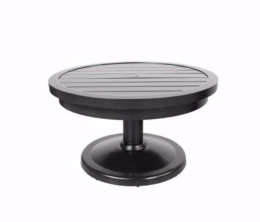 """Picture of MONACO 30"""" ROUND PEDESTAL COFFEE TABLE"""