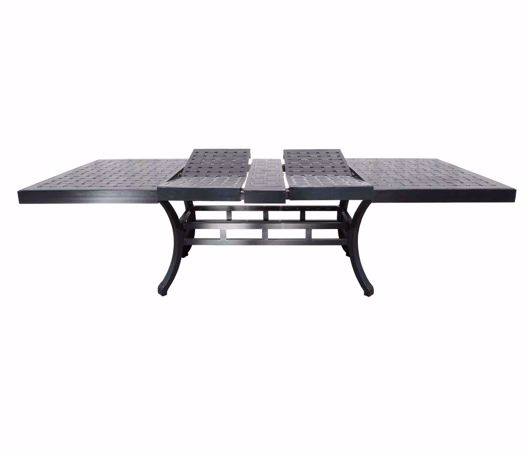 """Picture of HAMPTON 42"""" X 72"""" TO 108"""" EXTENDING DINING TABLE"""