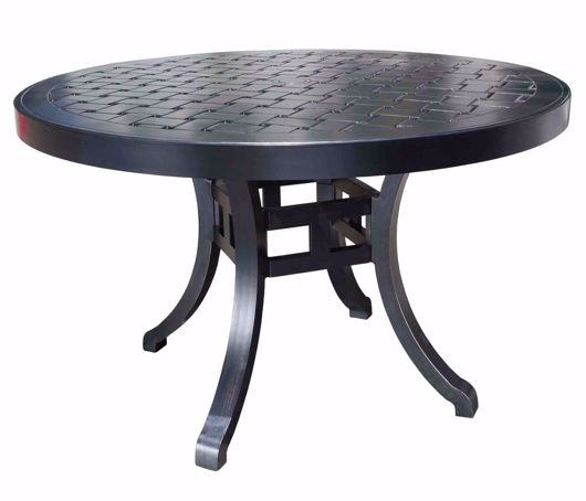 """Picture of HAMPTON 60"""" ROUND DINING TABLE"""