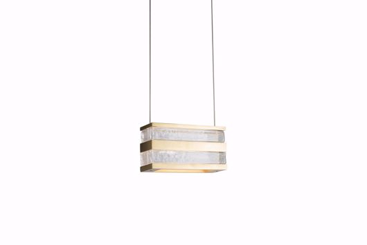 Picture of STACKS BRASS SINGLE PENDANT
