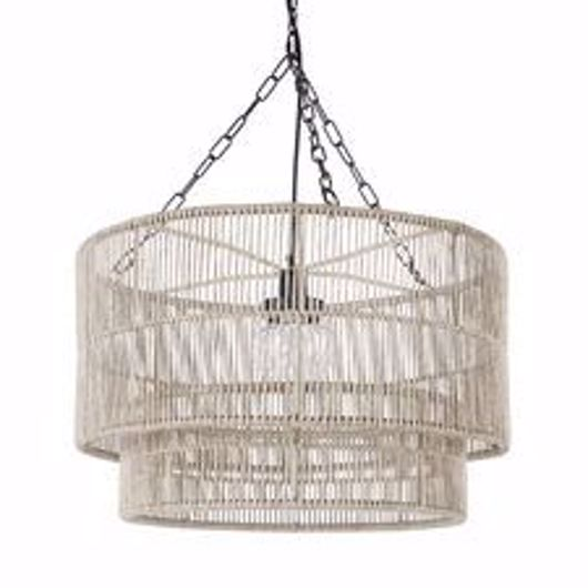 Picture of TANNER OUTDOOR PENDANT DRUM NATURAL