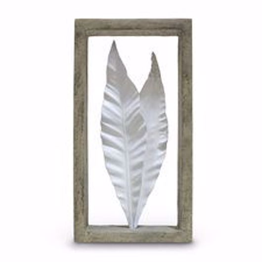Picture of INDOOR/OUTDOOR DRACAENA LEAVES SHADOW BOX