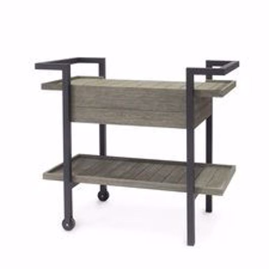 Picture of SOMERSET OUTDOOR BAR CART