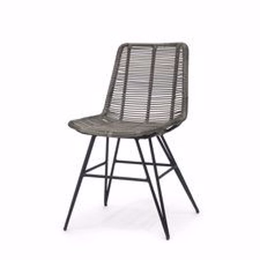 Picture of HERMOSA OUTDOOR SIDE CHAIR GREY