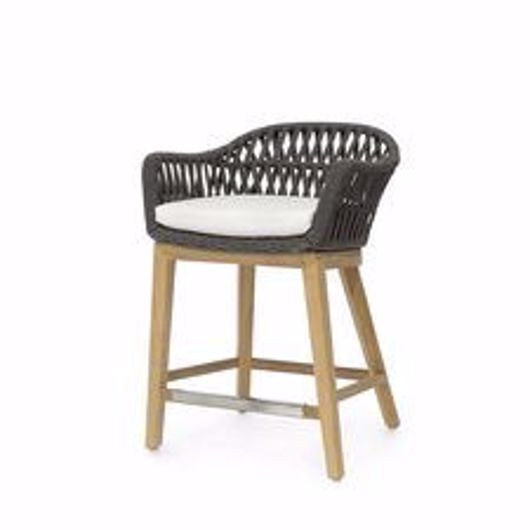 """Picture of NAPOLI OUTDOOR 24"""" COUNTER STOOL"""