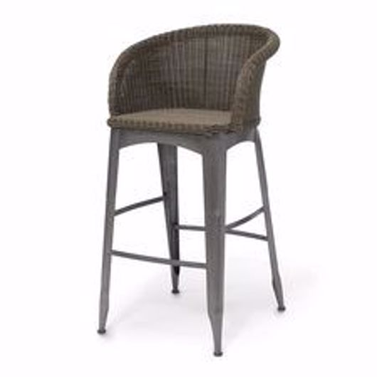 """Picture of NAVY OUTDOOR 30"""" BARSTOOL"""