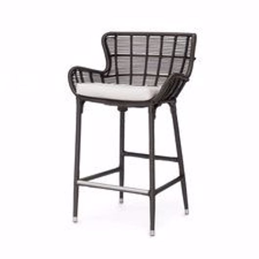 """Picture of PALERMO OUTDOOR 24"""" COUNTER STOOL, ESPRESSO"""